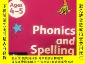二手書博民逛書店Collins罕見Phonics and spelling 4-