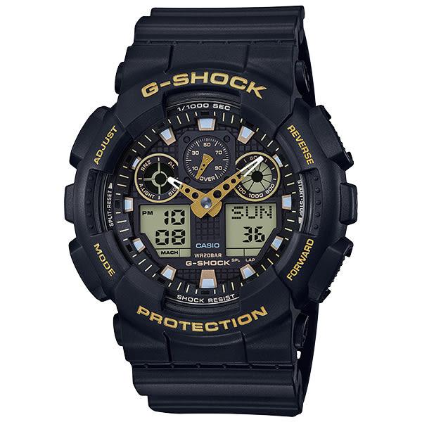 G-SHOCK GA-100GBX-1A9(GA-100GBX-1A9DR) 防水 CASIO 卡西歐 手錶