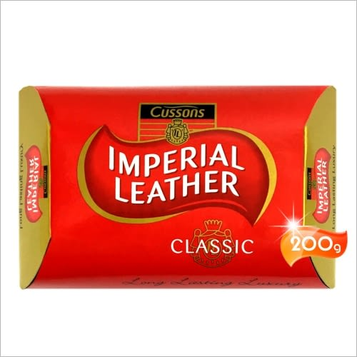 Cussons IMPERIAL LEATHER帝王皂(200g)-單入(經典紅色/潤膚) [55041]