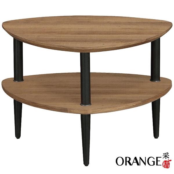 【采桔家居】開羅 現代風2尺二層置物架/玄關桌