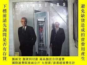 二手書博民逛書店INTERIORS罕見AUGUST 1989 (04)Y1808
