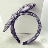 髮圈(任兩件)-淑女紡紗線條設計女髮箍3款73gi39【時尚巴黎】