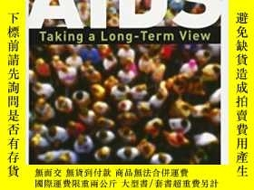 二手書博民逛書店Aids:罕見Taking A Long-term View (ft Press Science)-艾滋病:著眼長