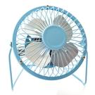 【DR415】鐵藝風扇6寸360度旋轉 超靜音USB電扇6吋電風扇.復古金屬迷你小風扇 EZGO商城