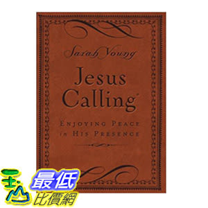 [106美國直購] 2017美國暢銷書 Jesus Calling:Enjoying Peace in His Presence