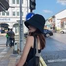 帽子女黑色漁夫帽早春夏季顯臉小水桶帽潮防曬遮陽帽遮臉素顏盆帽 衣櫥秘密