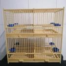 鳥籠 鳥籠純手工竹制四格籠黃騰鳥籠繡眼貝子籠麻料相思鳥籠玉鳥專用籠 快速出貨