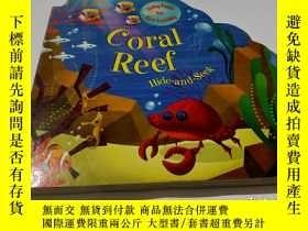 二手書博民逛書店coral罕見reef hide-and-seekY9212