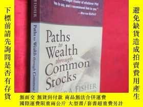 二手書博民逛書店Paths罕見to Wealth Through Common