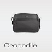 Crocodile Crocodile Wind 2.0系列布配皮橫式斜背包(S) 0104-08003