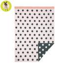 【贈限量禮盒】德國Lassig-有機棉嬰兒毯-粉紅星