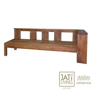【吉迪市柚木家具】柚木簡約沙發躺椅 ETLI001A柚木簡約沙發躺椅