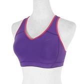 Nike Classic Pad Bra [427465-543] 女 運動 內衣 訓練 瑜珈 舒適 透氣 高支撐 紫