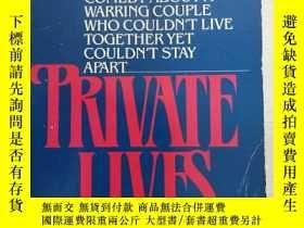 二手書博民逛書店Private罕見Lives 【英文原版】Y11617 Noël