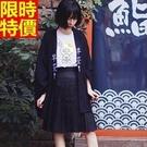 和服外套-清涼夏季日式浴衣和風防曬女罩衫68af3【時尚巴黎】