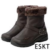 女短筒雪鞋『咖啡』SN221 雪靴.賞雪必備.冰爪.防滑鞋底.雪地.靴.賞雪.滑雪.冬天.保暖