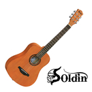 [唐尼樂器] 免運費 Soldin SA-3422 34吋 桃花心木 Baby 旅行吉他 (附贈全套配件) SA3422