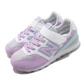 New Balance 休閒鞋 NB 996 Wide 寬楦頭 白 紫 中童鞋 大童鞋 女鞋 運動鞋 【ACS】 YV996PLQW