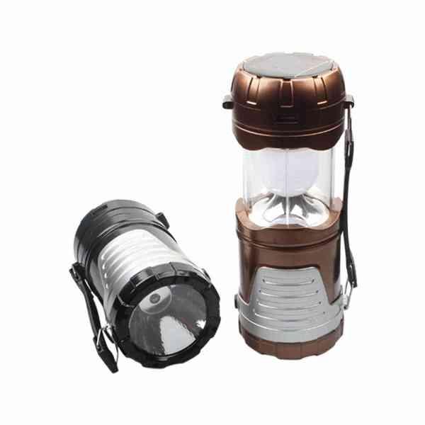 太陽能 充電 多功能 露營燈 手提 超亮 LED 照明 戶外 手機 野外 手電筒 求生 燈 『無名』 K08108