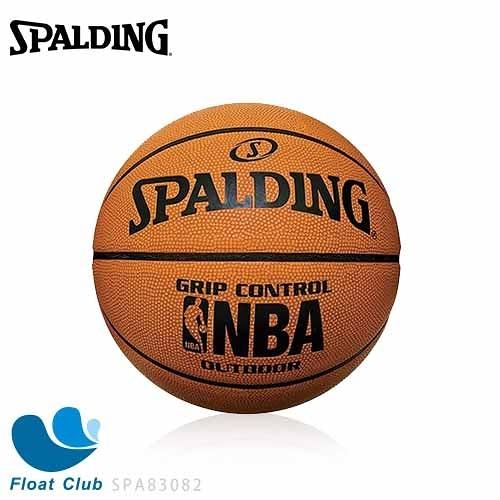 SPALDING 斯伯丁 NBA Grip Control – Rubber 橡膠籃球 專業橘 7號 SPA83082 原價750元