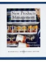 二手書博民逛書店《New Products Management》 R2Y IS