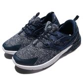 FILA 慢跑鞋 X903R 低筒 襪套式 藍 白 雪花 運動鞋 基本款 男鞋【PUMP306】 1X903R311