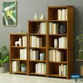 新年85折購 書櫃簡易書架置物架實木多層落地中式客廳學生兒童復古書櫃儲物收納架wy