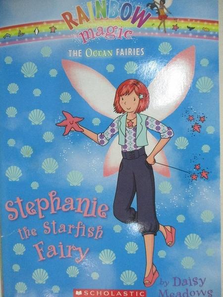 【書寶二手書T3/少年童書_HA8】Stephanie the Starfish Fairy_Daisy Meadows