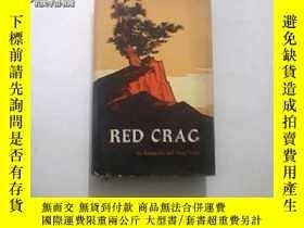 二手書博民逛書店RED罕見CRAG(紅巖)(英文版16開精裝)1版1印8785