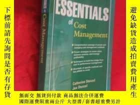 二手書博民逛書店Essentials罕見of Cost Management (