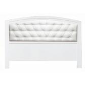 【YFS】奧斯本5尺白色皮扣床頭片-154.5x3x106.5cm