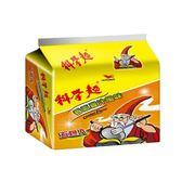 科學麵香蔥雞汁風味(五合一)袋40g*5【愛買】