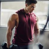 肌肉博士秋季無袖坎肩背心透氣彈力健身兄弟馬甲寬鬆跑步訓練服男【叢林之家】