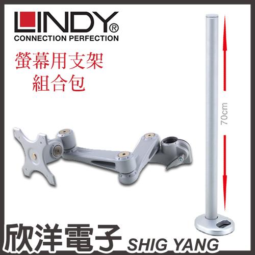 《優惠組合價》螢幕長旋臂式支臂 +穿孔式支桿70CM(40696+40963)