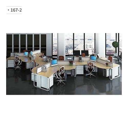 辦公桌 (隔間屏風/鋁合金鋼腳) 167-2 (請來電詢價)