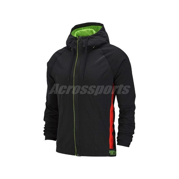 Nike 外套 Flex Full-Zip Training Jacket 黑 綠 男款 連帽 訓練 運動 【PUMP306】 BV3304-010