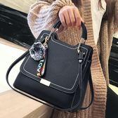 尼雯卡女士時尚單肩包包2017秋冬新款韓版手提包潮個性百搭斜挎包 優帛良衣