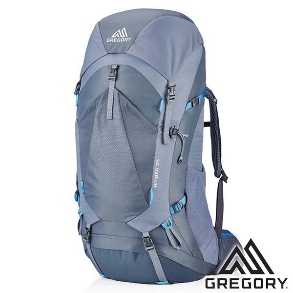 【美國 GREGORY】AMBER 登山背包 55L『北極灰』G126869 (專為女性設計) 登山 露營 後背包
