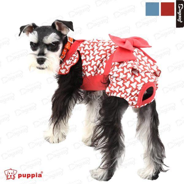 美系時尚《Puppia》幾何生理褲 發情期防護 寵物生理褲