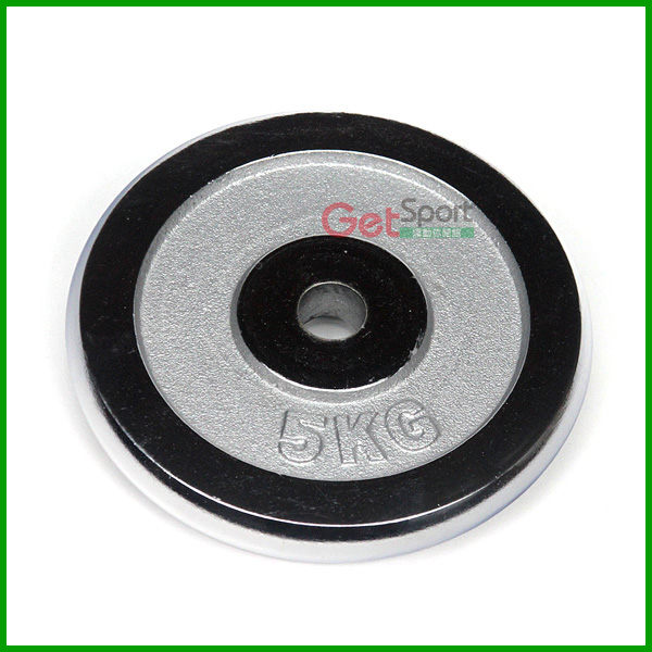 5公斤槓片(4.7~5kg/電鍍啞鈴片)