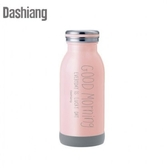 Dashiang 超真空450ml不鏽鋼牛奶瓶-粉紅 DS-C35-450