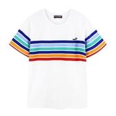 『小鱷魚童裝』條紋T恤(08號~18號)535408
