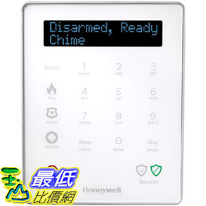 [107美國直購] LKP500 Keypad for Lyric Controller by Honeywell