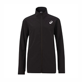 Asics [2041A141-001] 男 外套 平織外套 海外版型 運動 休閒 快乾 舒適 亞瑟士 黑