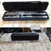【非凡樂器】二手商品 YAMAHA YFL-371 / 標準級長笛中階款/ 開孔含E鍵