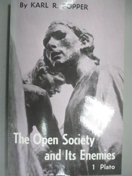 【書寶二手書T3/哲學_OHU】The Open Society and Its Enemies: The Spell of Plato_Popper, Karl Raimund
