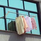 ✭米菈生活館✭【W72】陽台窗框多孔掛衣...