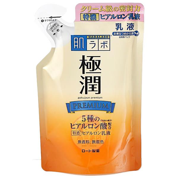 ROHTO 肌研 極潤金緻高效保濕精華乳140ml(補充包)【小三美日】