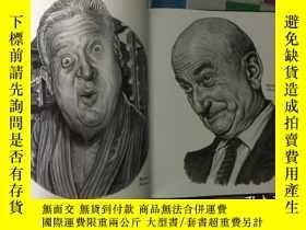 二手書博民逛書店Drew罕見Friedman 肖像漫畫集Old Jewish C