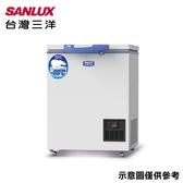 【台灣三洋 SANLUX】100公升超低溫-60°C冷凍櫃TFS-100G(只送不裝)